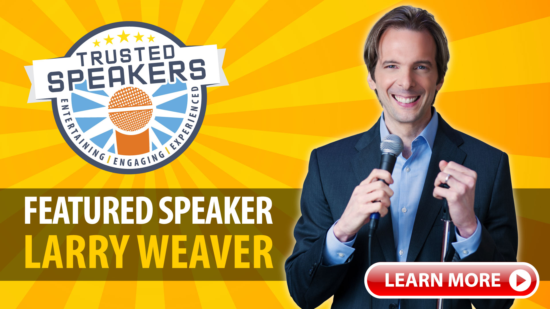 Featured Speaker Larry Weaver