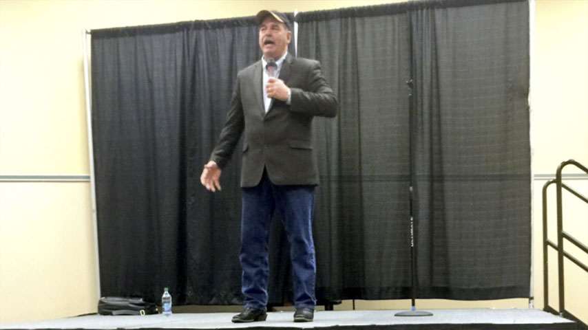 Jerry Carroll in Kennewick, WA