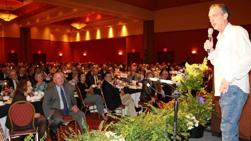 Rik Roberts at American Farmers & Ranchers Mutual Insurance Co. Annual Convention Banquet in Norman, OK