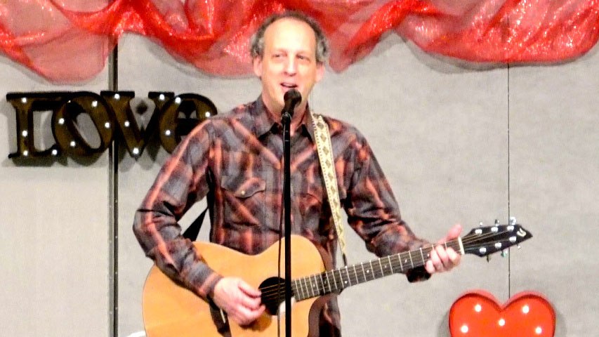 Rik Roberts at Lawndale Baptist Church Valentine Banquet in Greensboro, NC